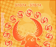 TAURUS WEEKLY HOROSCOPE 3/10/14 - 3/16/14