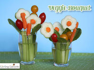 DIY Easter Veggie Bouquet