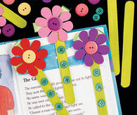 DIY Flower Book Marks