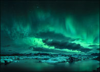 Icy Northern Lights