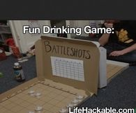 Fun drinking game