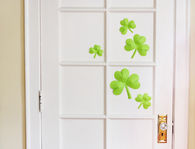 3D Paper Shamrock Decorations