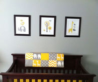 Gender neutral baby room idea