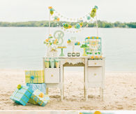 Fresh sea breeze baby shower