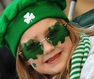 Clover Sunglasses for St. Patty's Day