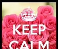 Keep calm and keep loving