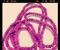 Passion purple beads