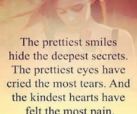 The prettiest smiles hide the deepest secrets
