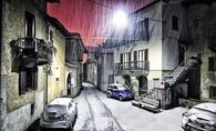 Italian snowfall