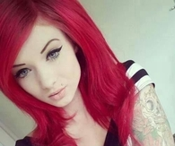 Tattoos and red hair