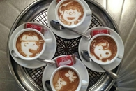 Peanuts Coffee Art