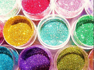 Colorful Glitter eyeshadow