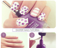 DIY Easter Nails Tutorial