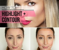 DIY Makeup Highlight and Contour