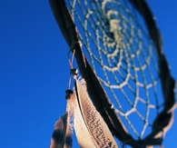 Dreamcatcher and blue skies