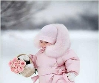 Little Pink Snow Angel