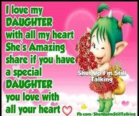 Love For My Daughter Quotes Mesmerizing Daughter Quotes Pictures Photos Images And Pics For Facebook