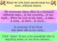 Miss someone in Heaven