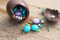 Chocolate easter egg treats