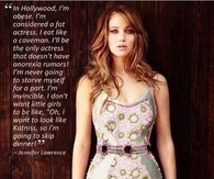 Jennifer Lawrence Quote About her Body