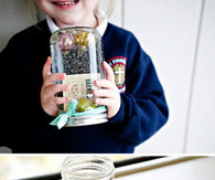 DIY beautiful mason jar craft