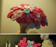 DIY Button Flower