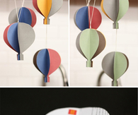 Paper balloon crafts