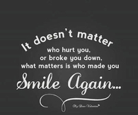 It doesnt matter who hurt you