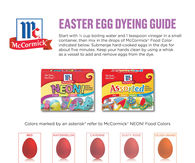 Easter Egg Dying Guide