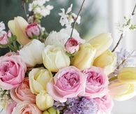 Pretty Pastel Fresh Cut Flowers