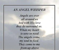 an angels whisper