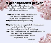 a grandparents prayer