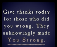 Give thanks today