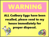 easter warning