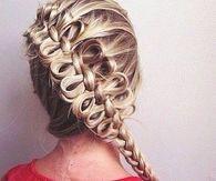 Loop french braid