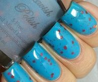 Blue Hawaii Nails