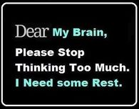 dear my brain