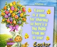 Easter is a time of sharing...
