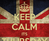 Keep calm its thursday