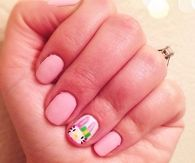 Hello Kitty Bunny Nails