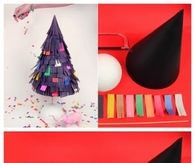 DIY Paper Strips Tree