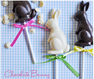 Chocolate bunny easter pops