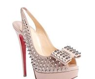 Clo Noeud Spike Sandals
