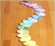 DIY Rainbow Easter Garland