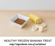 DIY Cocoa and Banana Ice Cream