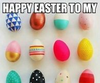 Happy Easter to my amazing followers