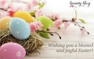 Wishing you a blessed and joyful easter