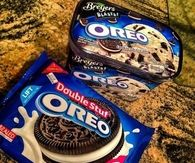 Double stuf oreos and oreo ice cream