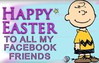Happy Easter Facebook Friends