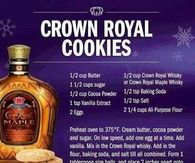 Crown Royal Cookies